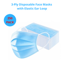 Pack of Disposable Face Mask, Non-Surgical Masks, Safety Mask ,3 Layer Filteration - Ships from Canada