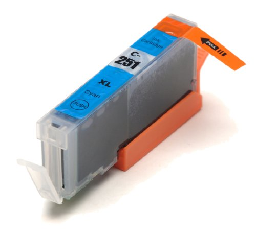 Canon CLI-251XL New Cyan Compatible High Capacity Inkjet Cartridge (High Capacity Version of Canon CL-251)
