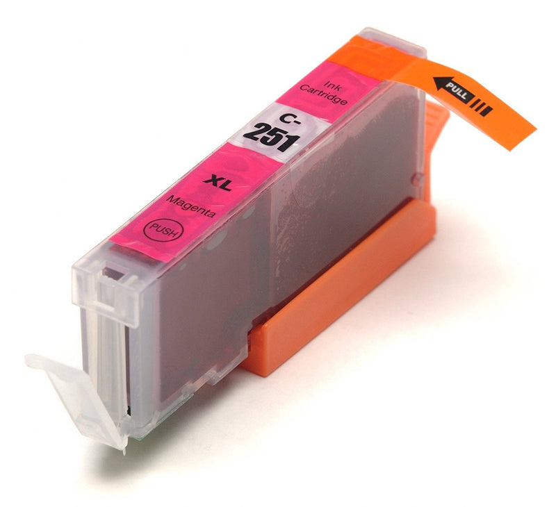 Canon CLI-251XL New Magenta Compatible High Capacity Inkjet Cartridge (High Capacity Version of Canon CL-251)