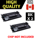 Compatible HP 89X CF289X Black Toner Cartridge High Yield