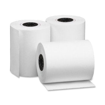 "2 1/4"" x 80' Thermal Paper Rolls (50 rolls / Case)"