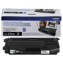 Original Brother TN-336BK New  Black Toner Cartridge - (High Capacity Version of TN-331BK)