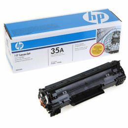 Original HP CB435A New Black  Toner Cartridge - (35A)