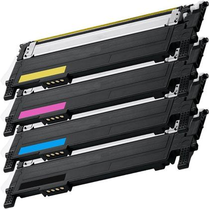 Generic Combo Pack Samsung 406S New Toner Cartridge-BK, Cyan,Magenta,Yellow