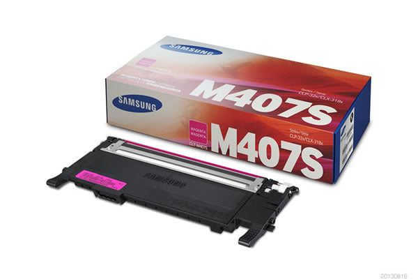 Original Samsung CLT-M407S New Magenta  Toner Cartridge