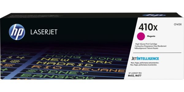 Original HP 410X (CF413X) Magenta Toner Cartridge (High Yield)