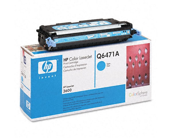 HP 502A Q6471A Original Cyan Toner Cartridge