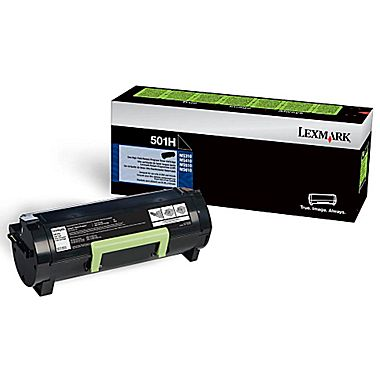 Lexmark 50F1H00(501H) Original Return Program Black Toner Cartridge