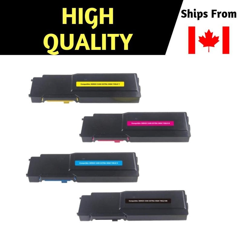 Best Compatible Toner for Xerox 106R03512 106R03514 106R03515 106R03513 High Yiled Combo, for  VersaLink C400/C405