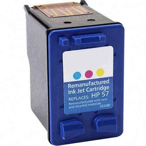 HP 57 Color Remanufactured Inkjet Cartridge (C6657AN)