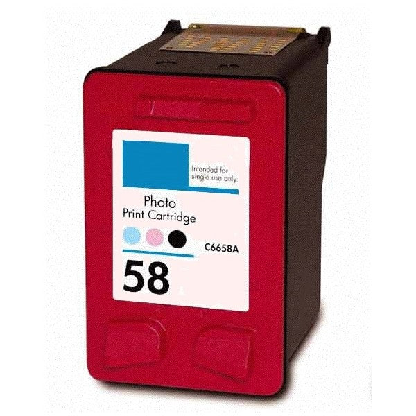 HP 58  Remanufactured Photo Ink Cartridge