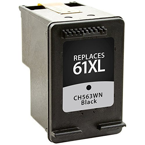 HP 61XL Black Remanufactured Inkjet Cartridge - High Capacity of HP 61 (CH563WN)