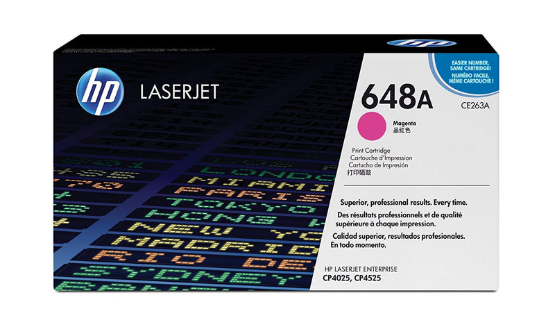 HP CE263A Original Magenta Toner Cartridge (HP 648A)
