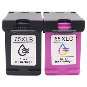 HP 65XL Black & Color Combo Pack Ink Cartridge Compatible