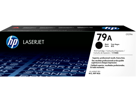 Original HP CF279A New Black  Toner Cartridge - (79A)