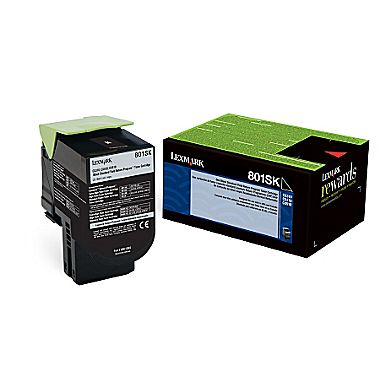 Original Lexmark 80C1SK0 Black Toner Cartridge