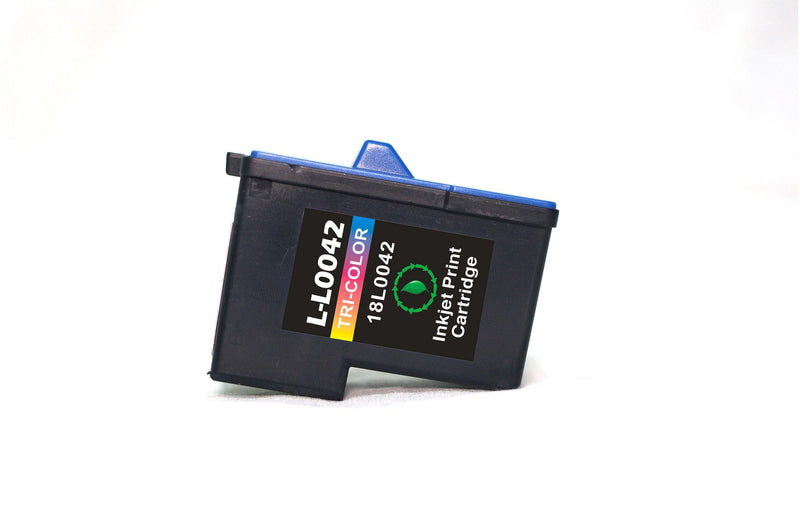 Lexmark 83 Color Remanufactured Inkjet Cartridge (18L0042)