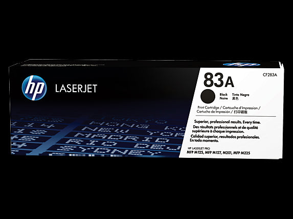 Original HP CF283A New Black  Toner Cartridge (83A)