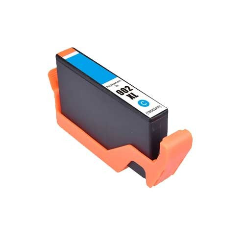 Remanufactured ( Compatible ) HP 902XL T6M02AN Cyan Ink Cartridge High Yield