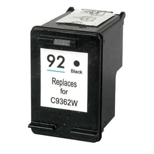HP 92 Black Remanufactured Inkjet Cartridges (C9362WN)