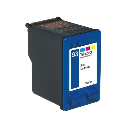 HP 93 Color Remanufactured Inkjet Cartridges (C9361WN)