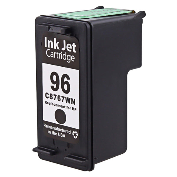 HP 96 Black Remanufactured Inkjet Cartridge (C8767WN)