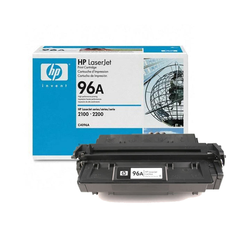 Original HP C4096A New Black  Toner Cartridge - (96A)