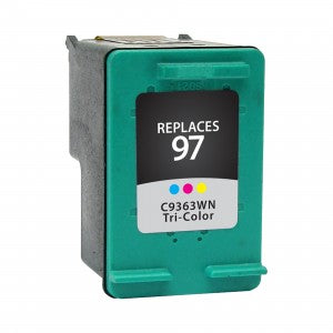 HP 97 Color Remanufactured Inkjet Cartridge (C9363WN)