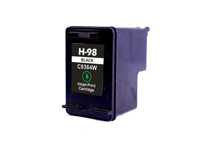 HP 98 Black Remanufactured Inkjet Cartridge (C9364WN)