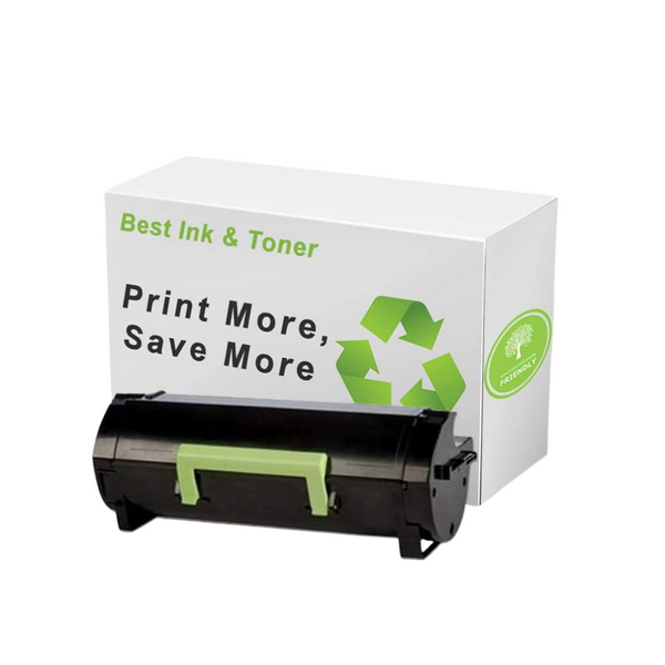 Best Remanufactured Black Toner Cartridge for Lexmark 521H 52D1H00 High Yield for MS710 MS810 MS811 MS812
