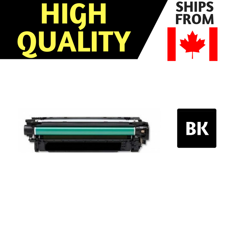 Comaptible HP 507A / HP 507X ( Black,Cyan,Magenta,Yellow , 4-Pack ) High Capacity Black & Regular Colors CE400X/CE401/CE402/CE403