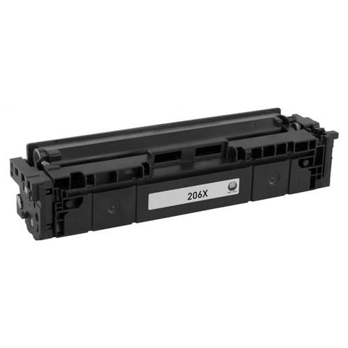 HP 206X Compatible High Yield Toner Cartridges Combo (BK/C/M/Y) - NO CHIP for use in Color LaserJet Pro M255, M283