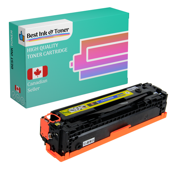 Best Compatible Toner Cartridge for Canon 046H High Yield BK/C/M/Y Combo Pack, For ImageClass MF731, MF733Cdw, LBP654Cdw, MF735Cdw, i-SENSYS LBP653Cdw