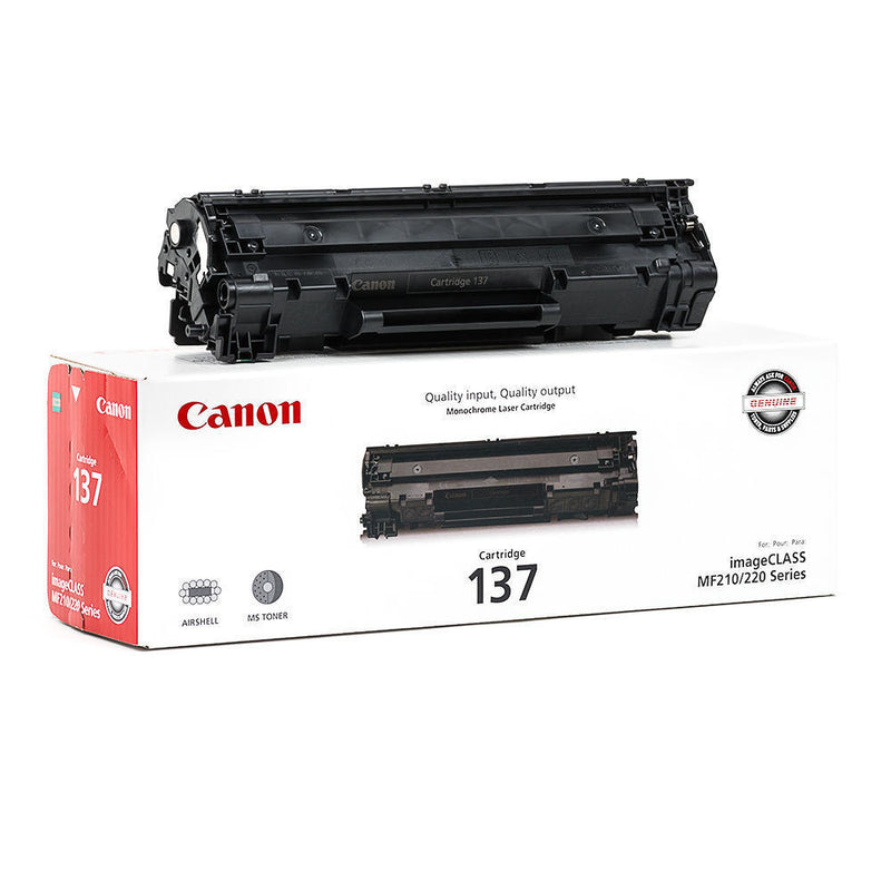 Original Canon 137 New Black  Toner Cartridge