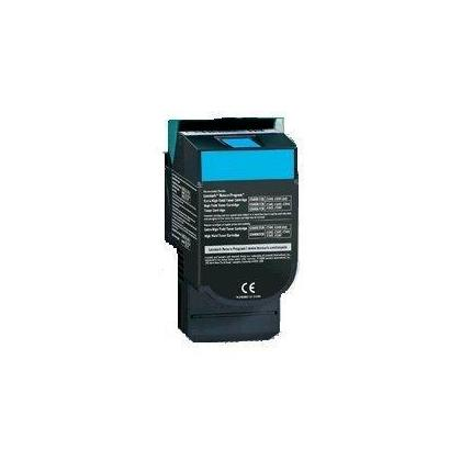 Lexmark New Compatible C540H2CG Cyan  Toner Cartridge - High Capacity