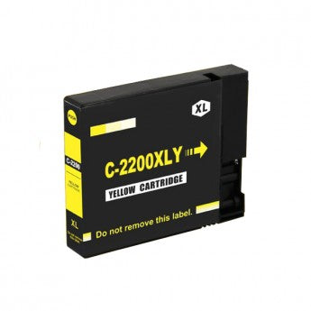 Canon PGI-2200XLY 9270B001 Compatible Yellow Pigment Ink Cartridge High Yield