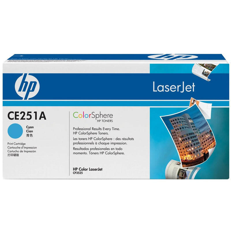HP CE251A Original Cyan Toner Cartridge (HP 504A)