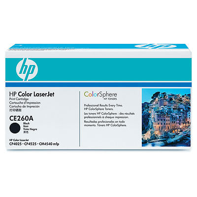 HP CE260A Original Black Toner Cartridge (HP 647A)