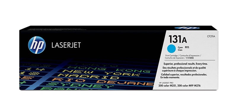 Original HP CF211A New Cyan  Toner Cartridge - (131A)