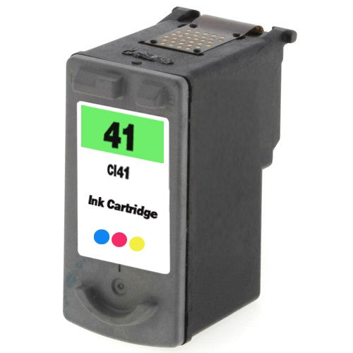 Canon CL-41 Color Remanufactured Inkjet Cartridge (0617B002AA)