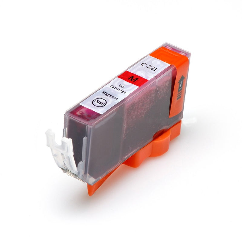 Canon CLI-221M New Magenta Compatible Inkjet Cartridge (2948B001AA)