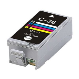 Canon CLI-36C New Color Compatible Inkjet Cartridge (1511B002AA)