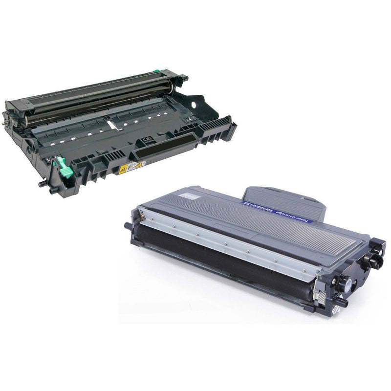 Brother TN360 DR360 Compatible Toner Cartridge and Drum Combo