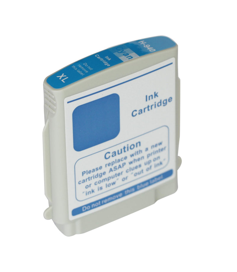 HP 940XL Cyan New Compatible Inkjet Cartridge- High Capacity (C4907AN)