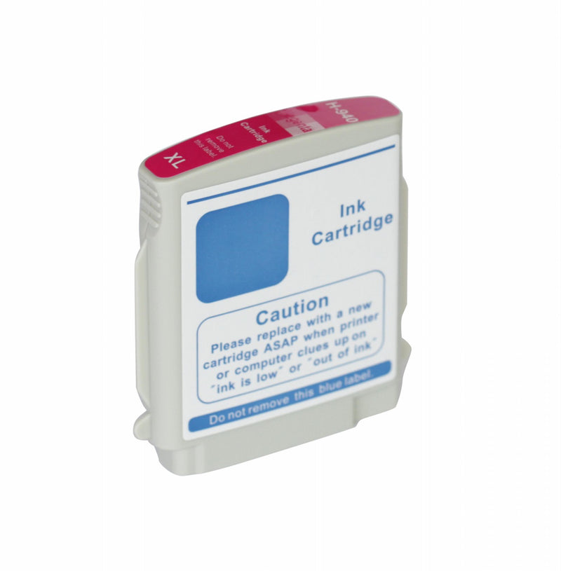 HP 940XL Magenta New Compatible Inkjet Cartridge - High Capacity (C4908AN)