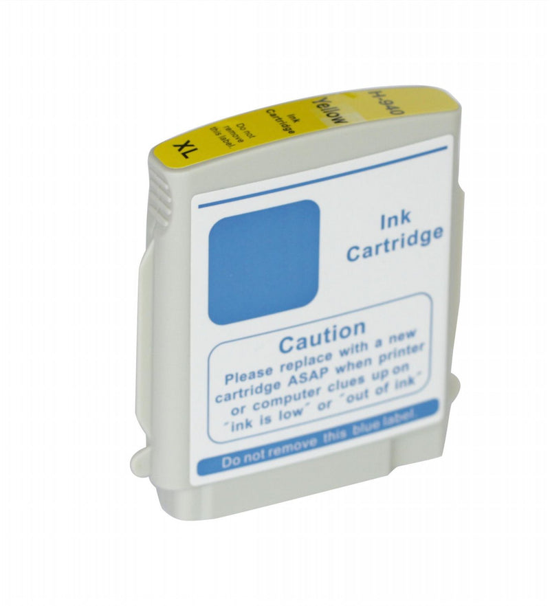 HP 940XL Yellow New Compatible Inkjet Cartridge - High Capacity (C4909AN)