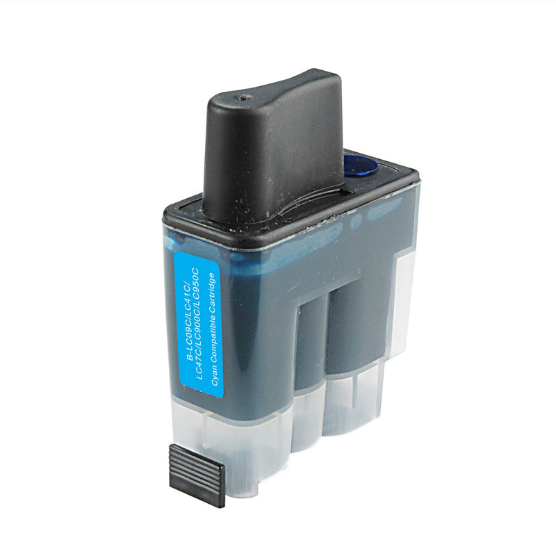 Brother LC-41C New Cyan Compatible Inkjet Cartridge (LC-41C)