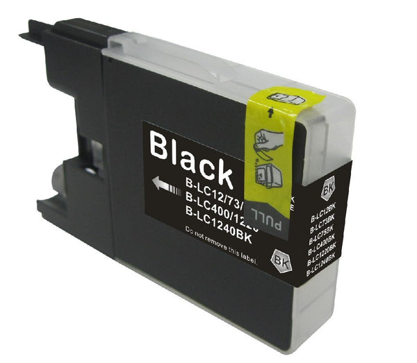 Brother LC-75BK New Black Compatible (High yield of LC 71)