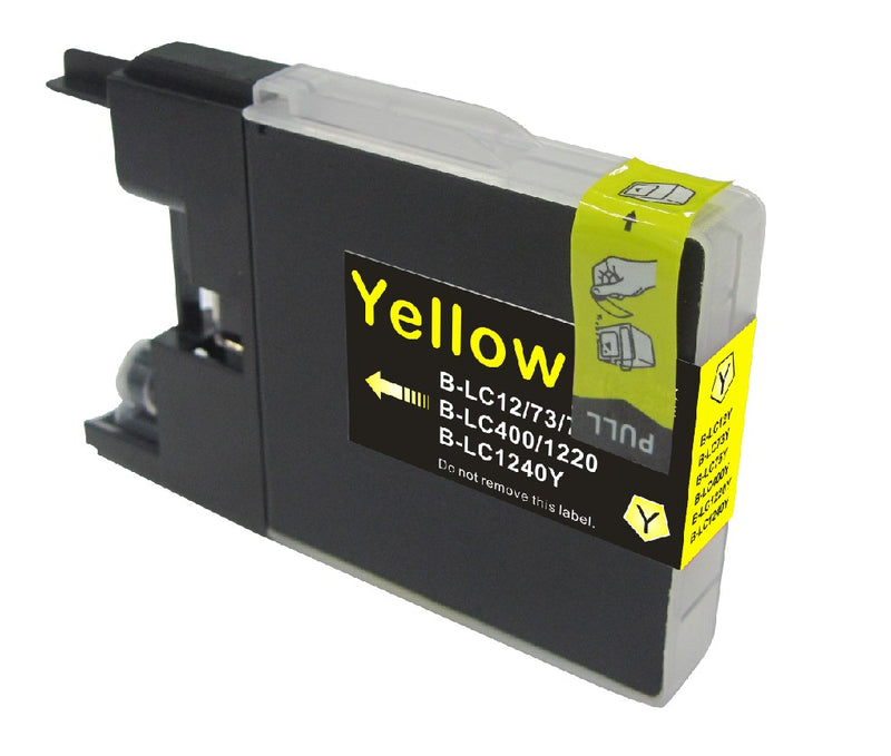Brother LC-75Y New Yellow Compatible (High yield of LC 71)