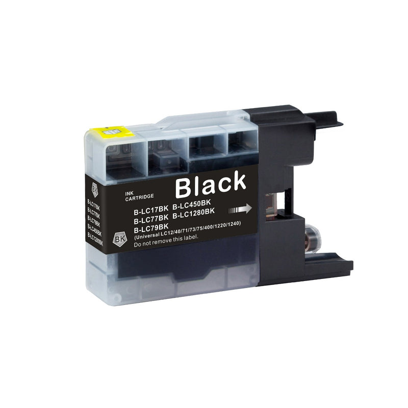 Brother LC-79BK New Black Compatible Inkjet Cartridge (LC-79BK)